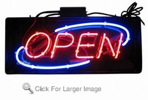 Small Deco Neon Open Sign only $129 99 Neon Open Signs
