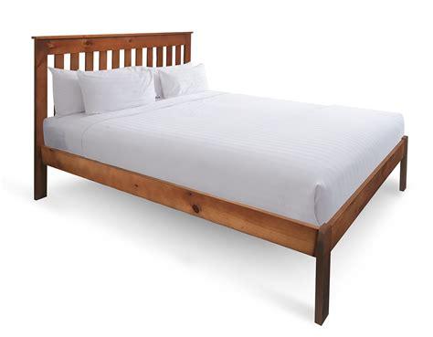 king size pillow top mattress bounty timber bed frame