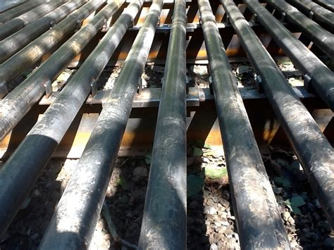 deercattle grates riverside fence