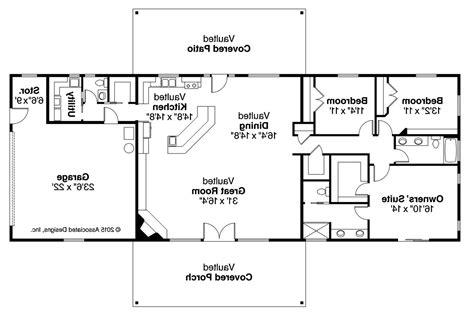 homes floor plans ranch house plans ottawa 30 601 associated designs