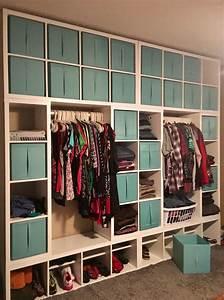 Kallax Als Schuhregal : kallax wardrobe wall ikea ideas pinterest wardrobes walls and ikea hack ~ Bigdaddyawards.com Haus und Dekorationen