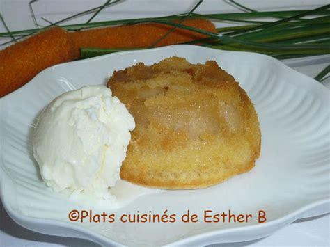 les plats cuisin 233 s de esther b petits g 226 teaux tatin aux pommes