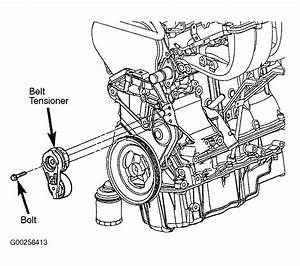 2002 Dodge Stratus Serpentine Belt Routing And Timing Belt