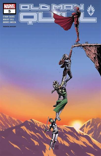 Quill Marvel Comic Vol Aipt Books Comicbookroundup