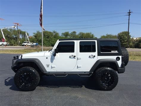 jeep hardtop custom 2017 jeep wrangler unlimited custom lifted leather hardtop