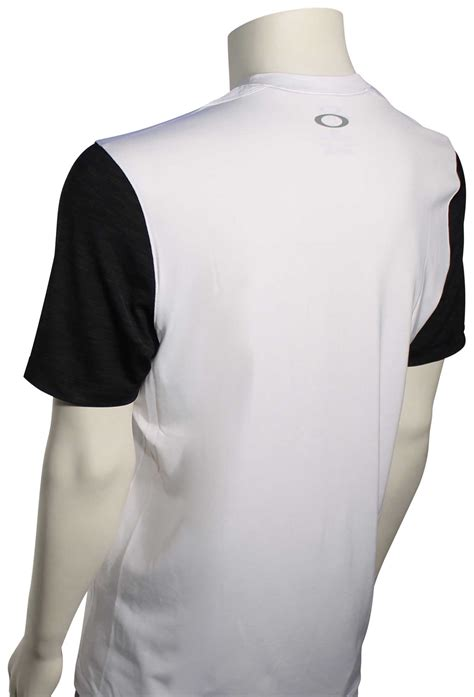 oakley surf ss surf shirt white for sale at
