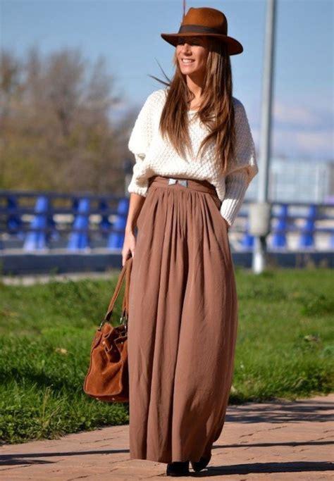 beautiful maxi skirt   fall