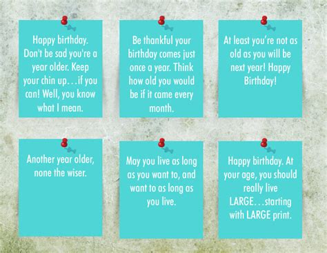 Funny Quotes Put Birthday Cards