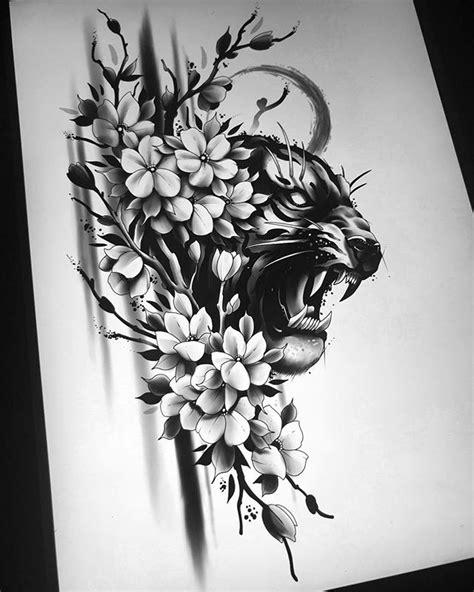 Jakob Holst (@jakobxtattoos) • Instagram photos and videos   Cat tattoo designs, Tiger tattoo