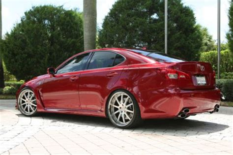 Buy Used 2012 Lexus Isf Matador Mica Red Wblack Interior