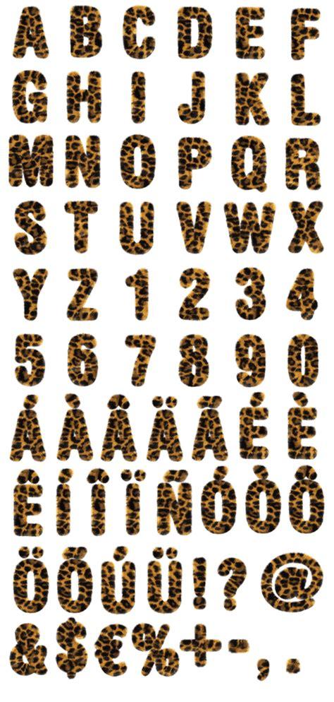 leopard font print fonts crazy fonts fancy letters