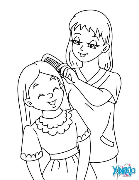 mother  daughter coloring pages hellokidscom
