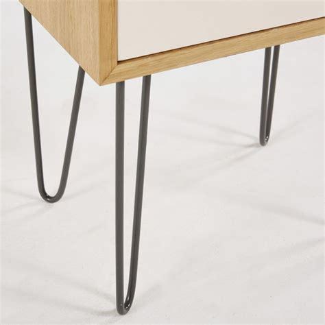 table chevet scandinave table de chevet style scandinave 1 tiroir idylle maisons du monde