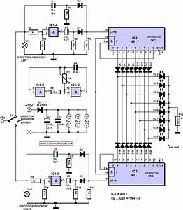 Blinker Indicator Circuit Diagram