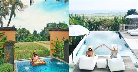 hotel  private pool  bali  bikin liburan