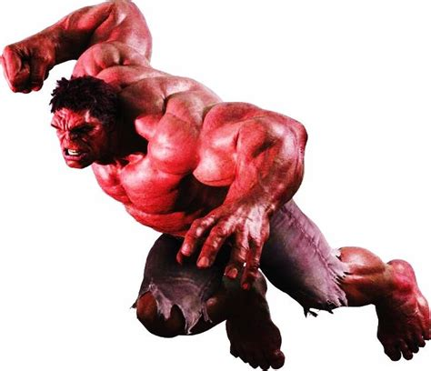 Red Hulk! Live Action Gen. 'thunderbolt' Ross, Movie