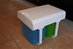 Poubelle Tri Selectif 2 Bacs : poubelle tri s lectif 2 bacs 16 litres msa 9004 ~ Dailycaller-alerts.com Idées de Décoration