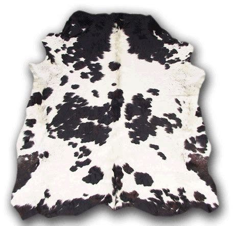 cowhide store black spotted cowhide rick s home store