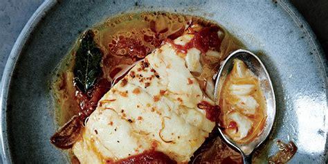 poached   tomato  saffron recipe epicuriouscom
