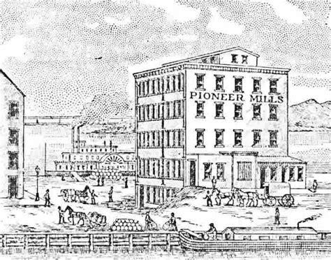 bomfords mill pioneer flour mills wilkins rogers