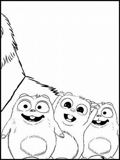 Coloring Pages Lemmings Grizzy Colouring Printable Agent