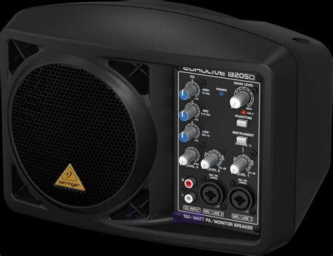 behringer b205d portable active monitor pa speaker whybuynew co uk