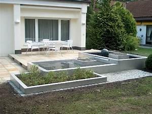 Wasserbecken Aus Beton : wasserbecken garten edelstahl ~ Michelbontemps.com Haus und Dekorationen