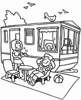 Coloring Camping Summer Topcoloringpages Holiday sketch template