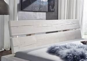 Massivholzbett 180x200 Weiß : sale balkenbett massivholzbett fichte wei 180 x 200 cm boris ~ One.caynefoto.club Haus und Dekorationen