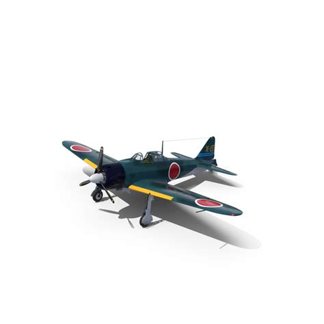 Wwii Japanese Navy Fighter Aircraft A6m Zero Png Images