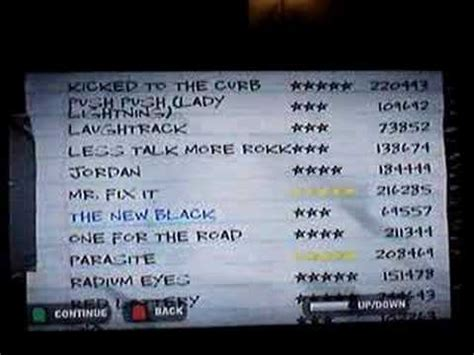 Guitar hero world tour has 86 songs, which are all master recordings (apparently this was a first for guitar hero). Guitar Hero 2 Song List (Expert) - YouTube