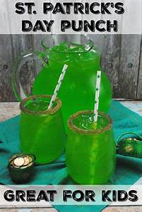 St. Patricks Day Punch, Perfect for a St. Patrick's Day ...