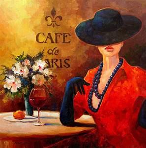 Evening Wine Painting by Kanayo Ede