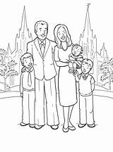 Coloring Pages Church Going Families Lds Primary Popular sketch template