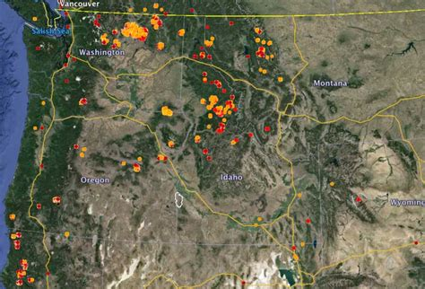 active wildfires   united states wildfire today