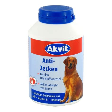 akvit anti zecken tabletten fhunde  gramm