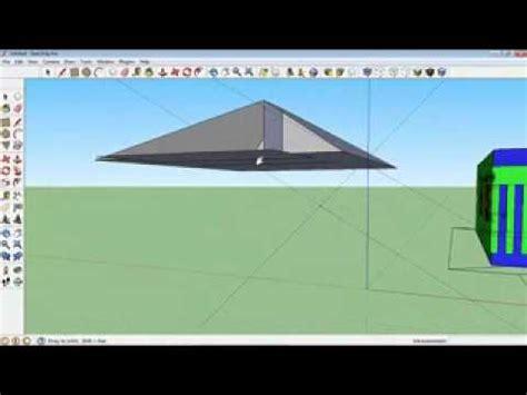 Tutorial Membuat Atap Limas Dengan Sketchup Youtube