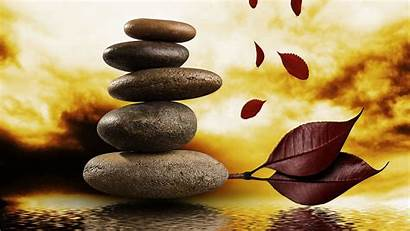 Stones Zen Massage Balance Nature Water Wallpapers