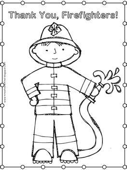 grade health fire safety coloring pages
