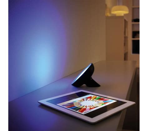 philips hue bloom dimmable led smart table l buy philips friends of hue bloom wireless led table l