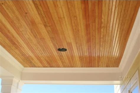 Wood Beadboard Ceiling : 17 Best Images About Bead Board Front Gable Ceiling On
