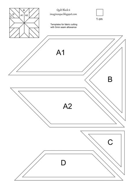 paper piecing templates printable paper piecing templates piecing print this page template for epp print
