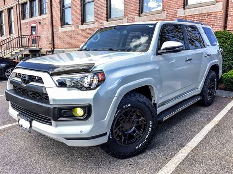 how make cars 2012 toyota 4runner spare parts catalogs 5th gen 4runner limited fender mod bigger tires pushing back plastic fenders on limited