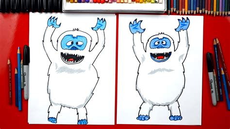 how to draw the rudolph abominable snowman how to draw a bumble abominable snowman for hub