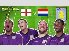 Aston Villa's Agbonlahor & Lowton England Vs Vlaar