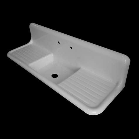 single bowl  double drainboards model sbdw nbi