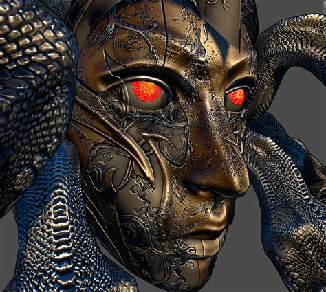 Medusa Armor Helmet Basic Textures 3 More colors at Skyrim ...