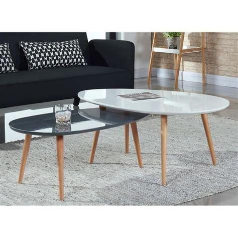 table de salon scandinave table basse table basse scandinave 98x61 cm laqu 233 e blanc table basse table