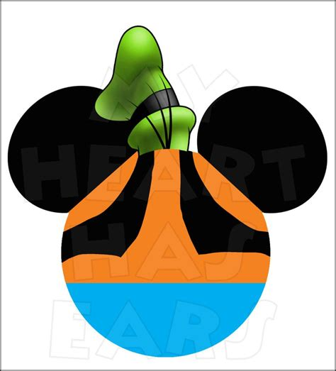 mickey mouse dressed  goofy instant  digital