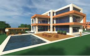 Modern Houses With Pool Modern Minecraft Home And Pool